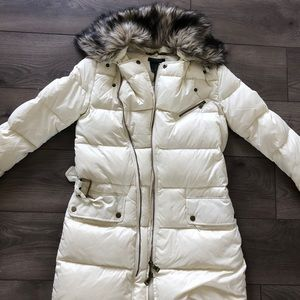 Jackets & Blazers - Raulph Lauren Faux-Fur Down Coat